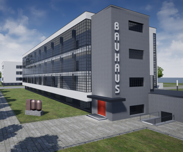 Remodeled in ARCHLine.XP – Bauhaus, Dessau