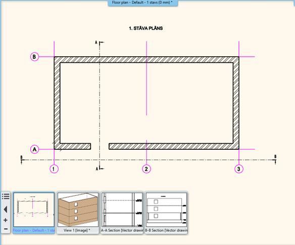 BIM – 2D BIM un 3D BIM datu izmantošana projektēšanā